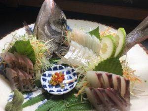 今日のお刺身シロダイです