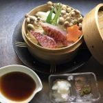 魚と野菜の蒸し物